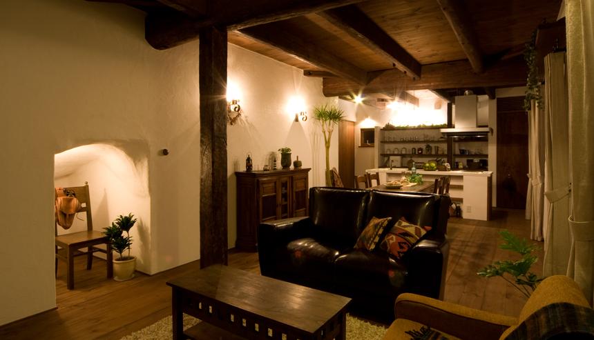 フランスの片田舎・プロバンスの雰囲気のある、アンティークな新築住宅、ラフェルム